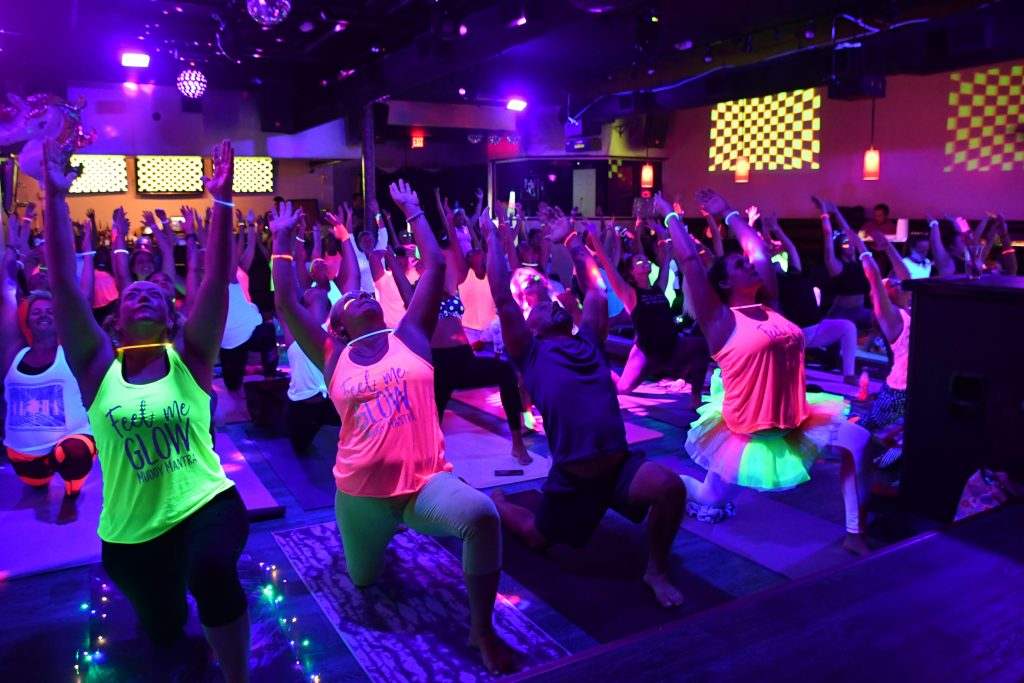 glow Yoga Just two short weeks away! - Muddy Mantra